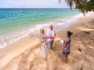 Boda en una Playa del Caribe